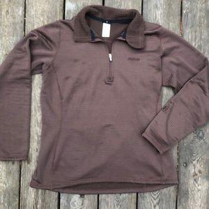 Patagonia R1 pullover chocolate brown large